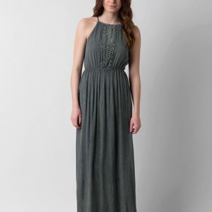 Angie Crochet Maxi Dress